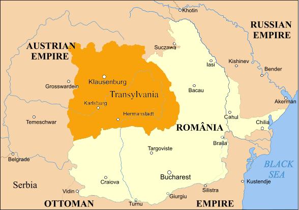 HARTA PRINCIPATELOR UNITE ROMANE 1859